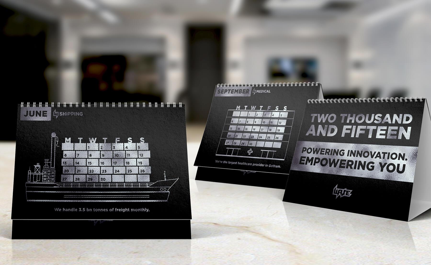 Desk CalendarWAYNE