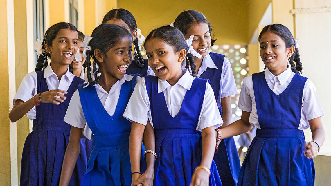 Theur schoolgirls